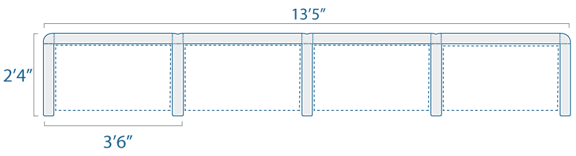 3x2 4 Cubes