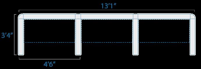 4x3 3 Cube
