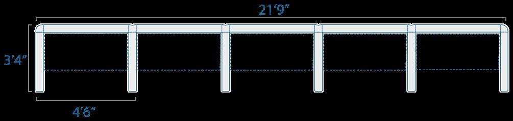 4x3 5 Cubes