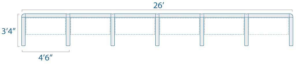 4x3 6 Cubes