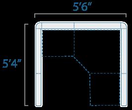 5x5 1 Cube