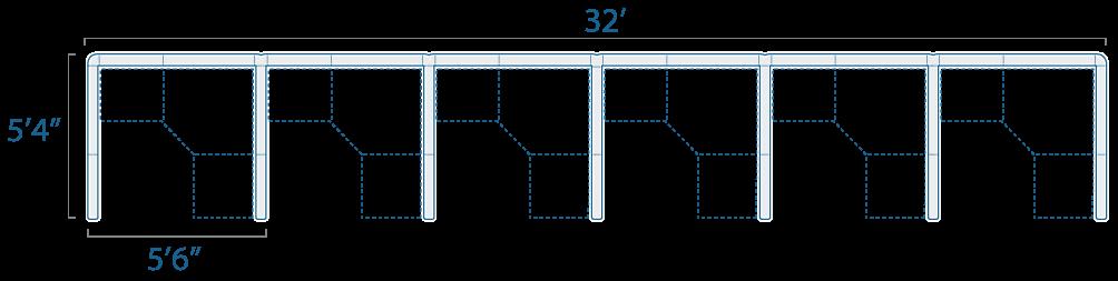 5x5 6 Cubes