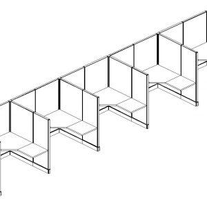 6x5x67h 5 Inline Ld