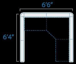 6x6 1 Cube