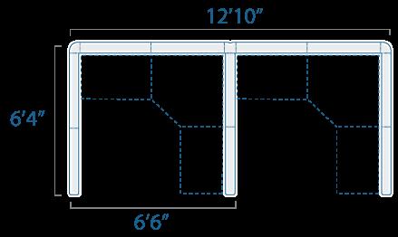 6x6 2 Cubes