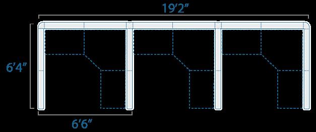 6x6 3 Cube