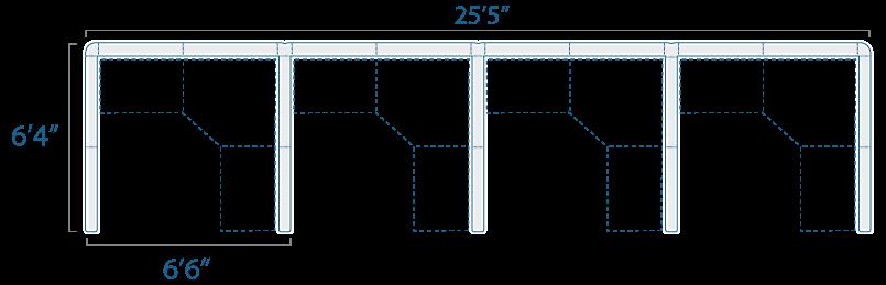 6x6 4 Cube