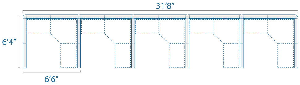 6x6 5 Cubes