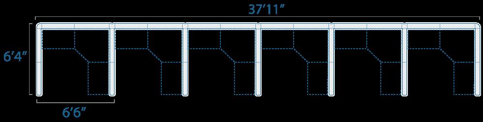 6x6 6 Cubes