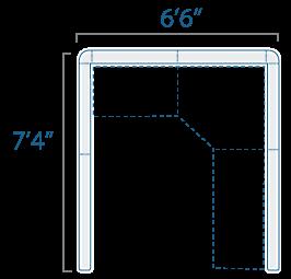 6x7 1 Cube