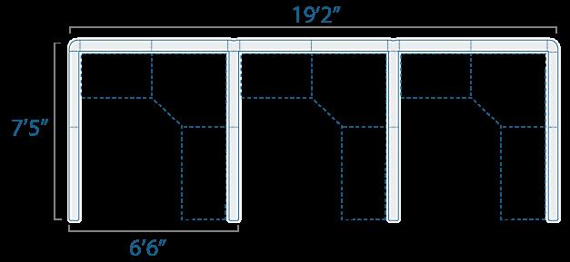 6x7 3 Cube