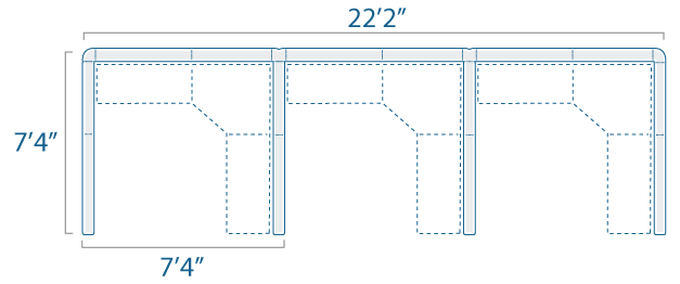 7x7 3 Cube