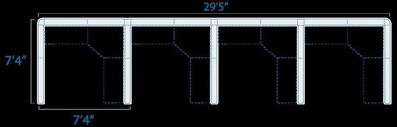 7x7 4 Cube