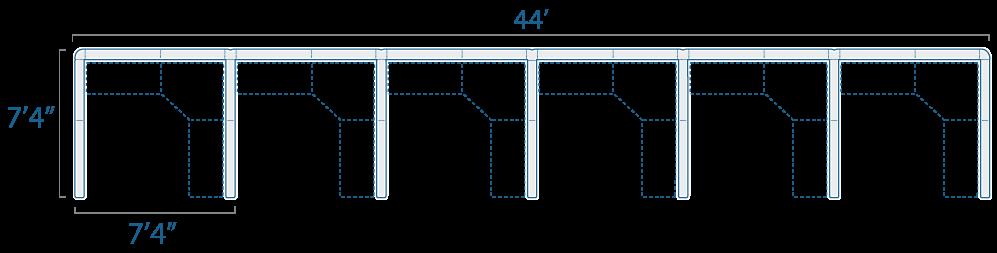 7x7 6 Cubes