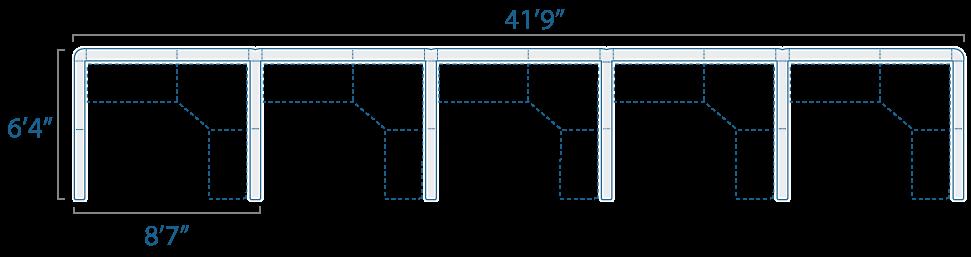 8x6 5 Cubes