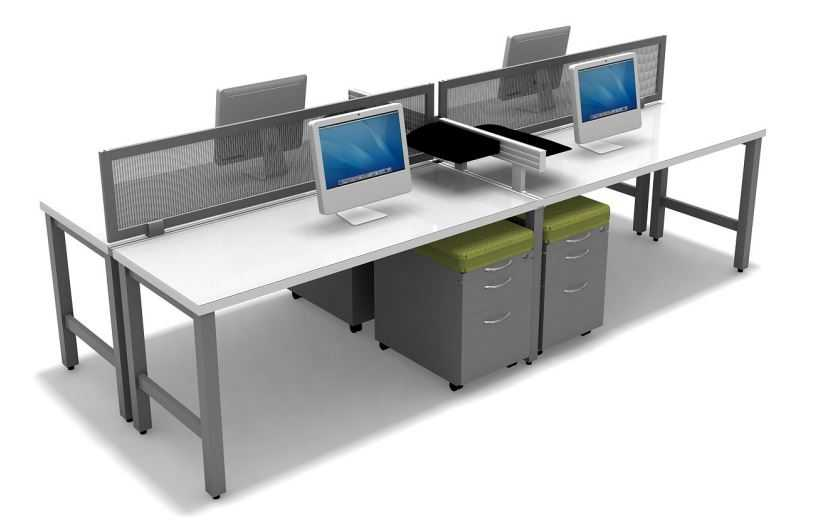 Fastcubes' modern office benching system designs that bring this new generation of design to the office that help foster a collaborative team environment, create an open office concept while providing enough privacy and fashion a modern office feel.