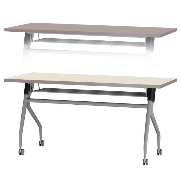 Nifty Dual Side Portable Table Beige Taupe 28166.1427311007.1280.1280