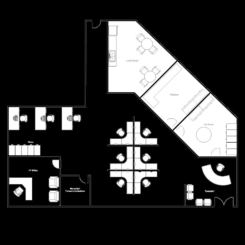 cubicle free layout2